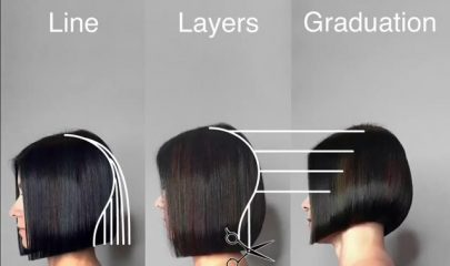 Mastering: line, layers and graduation! This video from Shannel Mariano @shannelmariano is brilliant! Racking…