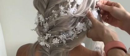 WINTER BRIDE INSPIRATION Getting married around the holidays or even in the winter months…