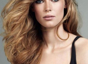 """OCCASION HAIRSTYLE: """"GENTLY TOUSLED"""" Paired with an elegant evening dress, these is perfect no…"""