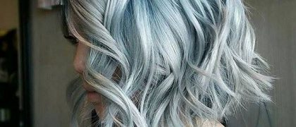 """NOT A FAN OF LAST YEAR'S GREY HAIR TREND? You may find the """"denim""""…"""